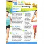 10 ways to minimise running injury